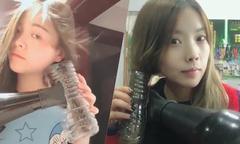 Chiêu tạo tóc xoăn tiết kiệm của hội chị em Trung Quốc