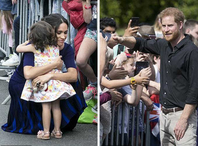 Hoàng tử Harry tìm bố mẹ cho cậu bé đi lạc vào ngày công du cuối - 1