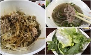 Đổi vị bằng món 'phở lai hủ tiếu khô' ở Sài Gòn