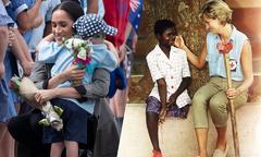 5 lý do khiến Meghan được coi là phiên bản của Diana