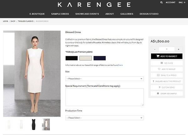Hiệu ứng Meghan làm sập trang web hãng thời trang Australia - 1