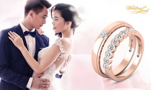 Mua nhẫn cưới DOJI giảm giá, trúng thưởng lớn