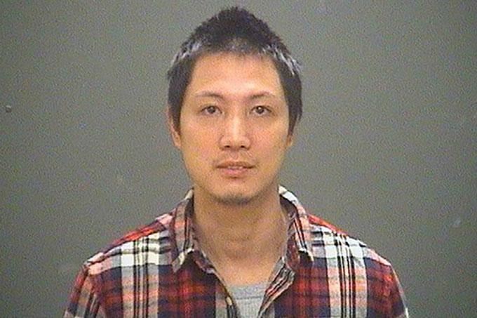 Jiansen Liang (34 tuổi) là hung thủ giết Qihong Chen (33 tuổi) ở Ohio, Mỹ đêm 27/7/2017. Ảnh: Fox 8.