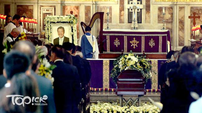 Tang lễ trang trọng của ông Quách Bỉnh Tương - một doanh nhân nổi tiếng Hong Kong, ông mất vì bệnh nặng ở tuổi 68. Tang lễ được tổ chức tại nhà thờ thánh John ( St. Johns Cathedral) hôm 1/11.