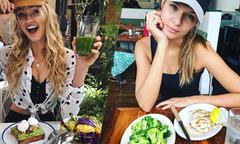 Bữa sáng giữ dáng của 6 người mẫu nội y Victoria's Secret