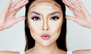 Vị trí chính xác để thoa phấn tạo khối giúp che khuyết điểm khuôn mặt