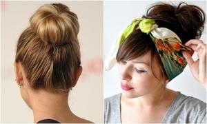 3 kiểu tóc điệu đà chỉ mất một phút tạo kiểu