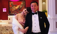 Chồng con và dàn nghệ sĩ ra Vũng Tàu chúc mừng Vy Oanh