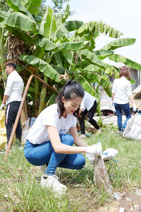 Trong video về dự án môi trường mang tới cuộc thi, Phương Khánh muốn