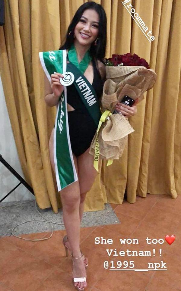 Sau chiến thắng đầu tiên, Phương Khánh càng thoải mái và thể hiện phong độ ổn định. Cô tiếp tục  giành huy chương Bạc phần thi bikini ở nhóm Nước. Các người đẹp chia thành 3 nhóm là Nước - Lửa - Không khí.