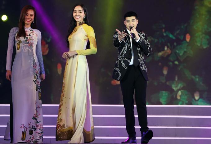 Noo Phước Thịnh được mời về Kiên Giang biểu diễn. Anh thể hiện ca khúc Em trong mắt tôi song song với phần trình diễn áo dài của dàn người đẹp.