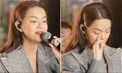 Video Phạm Quỳnh Anh vừa hát vừa khóc được chia sẻ nhiều