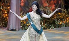Hoa hậu Trái đất Phương Khánh tỏa sáng qua ống kính phóng viên quốc tế