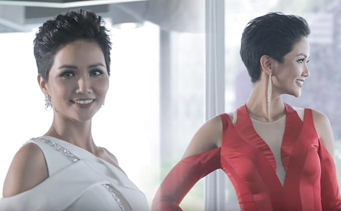 HHen quyết tâm chuẩn bị, rèn luyện cho Miss Universe diễn ra tháng 12 tại Thái Lan.