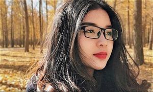 Cô gái Việt ngất ngây với mùa thu vàng Bắc Kinh