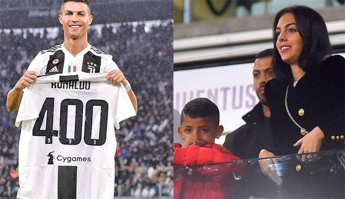 Bạn gái khen C. Ronaldo đến từ hành tinh khác