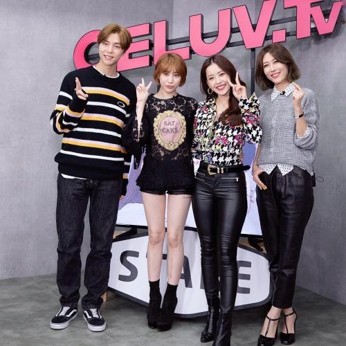 Chi Pu rạng rỡ khi tham gia chương trình của Hàn Quốc. Tại đây, cô được ca ngơi hết lời với danh xưng như: Kim Tae Hee Việt Nam.