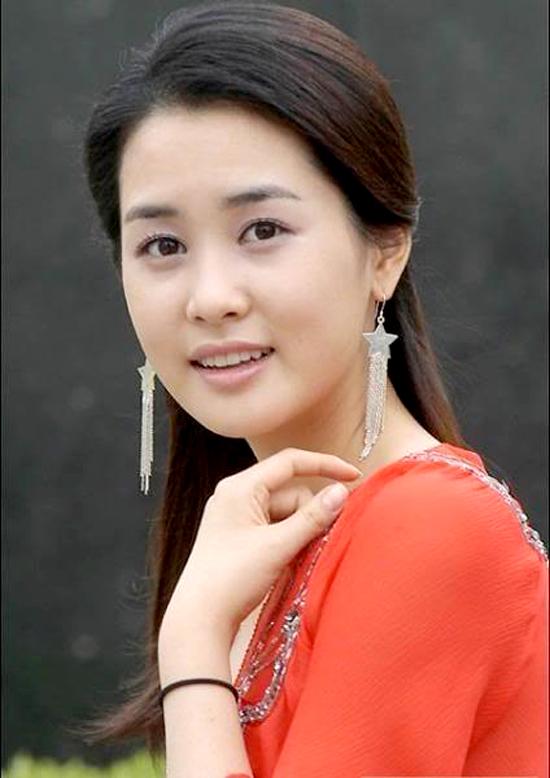 Hình ảnh mỹ nhân Hàn thời mới đóng phim.
