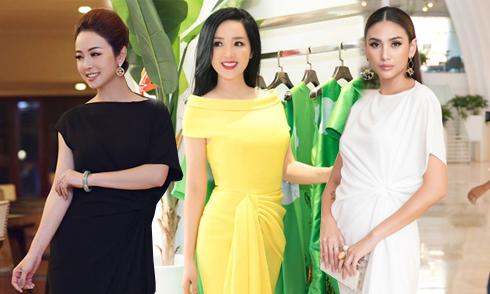 Người đẹp Việt mê mẩn váy xoắn eo