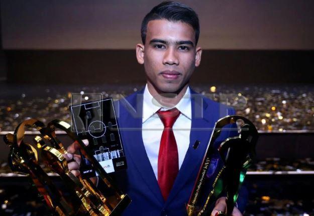 Safawi Rasid nhận giải tối 5/11.