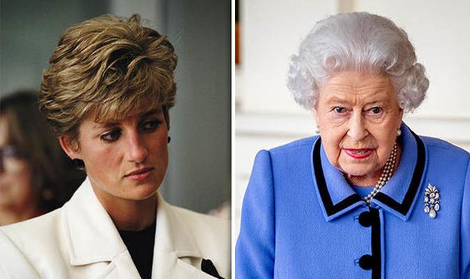 Chính Nữ hoàng Anh đã gửi thư yêu cầu Thái tử Charles và Công nương Diana ly hôn. Ảnh: Express.
