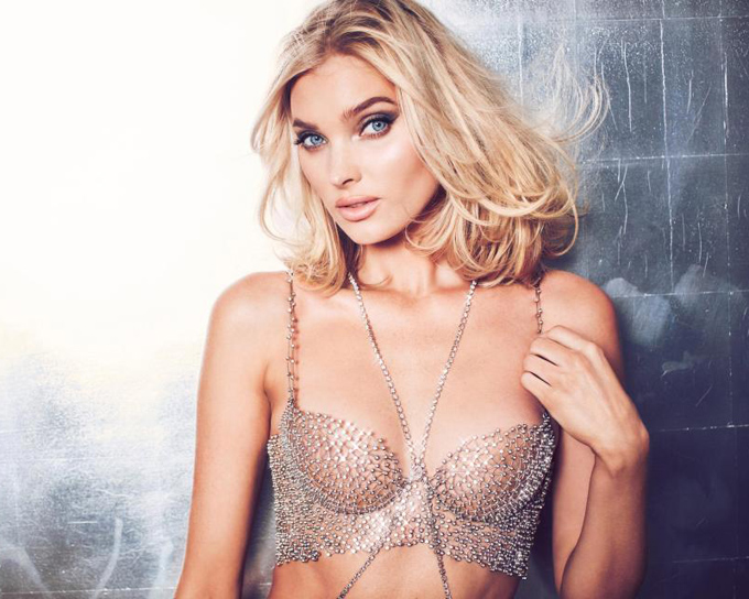 Elsa Hosk unveils $1m Victorias Secret Fantasy Bra  which features 2,100 Swarovski diamonds and took 930 hours to make