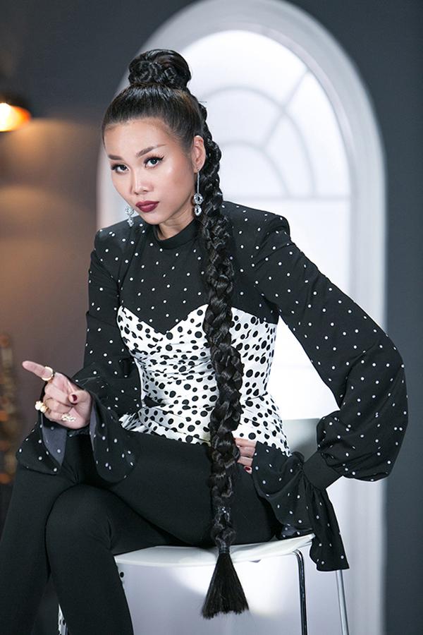 Ở các tập đầu của The Face năm nay, Thanh Hằng thường xuất hiện với mái tóc không đụng hàng và dễ dàng tham gia các buổi huấn luyện cho các thí sinh.