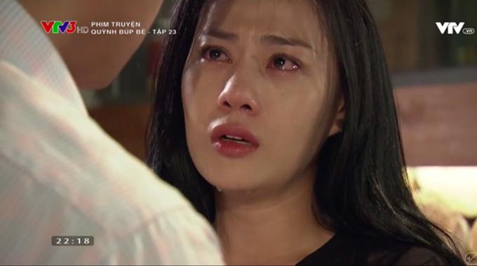 Diễn xuất của Phương Oanh được đánh giá cao trong tập 23.