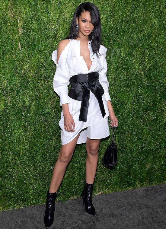 Siêu mẫu Chanel Iman.