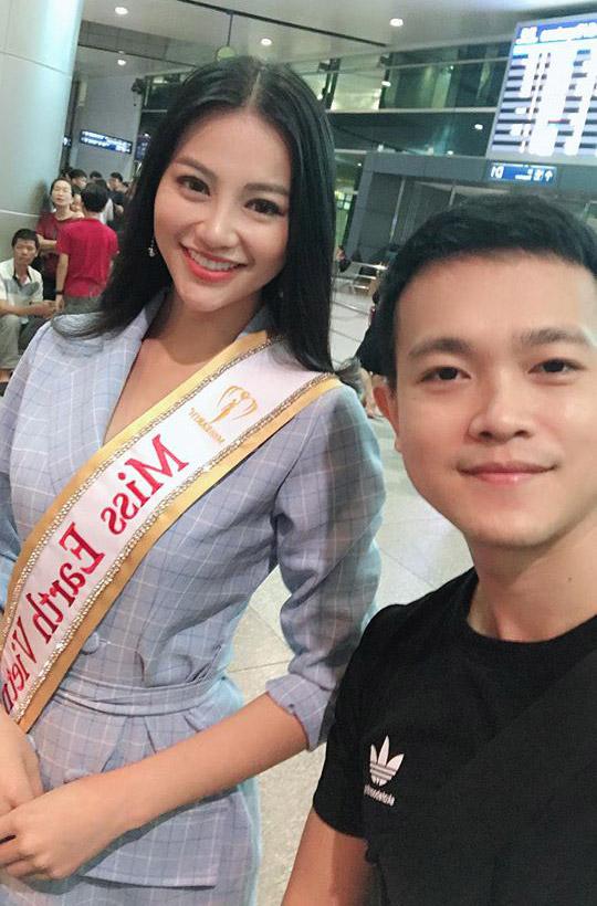 Phương Khánh và anh trai - chuyên gia make-up Phương Khanh.