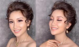 Makeup Hùng Việt gợi ý trang điểm nền căng bóng cho cô dâu