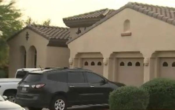 Ngôi nhà nơi vợ chồng ông Herbert sống cùng cháu trai. Ảnh: Fox10.