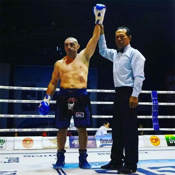 Christian Daghio trong chiến thắng thứ 145 của sự nghiệp.