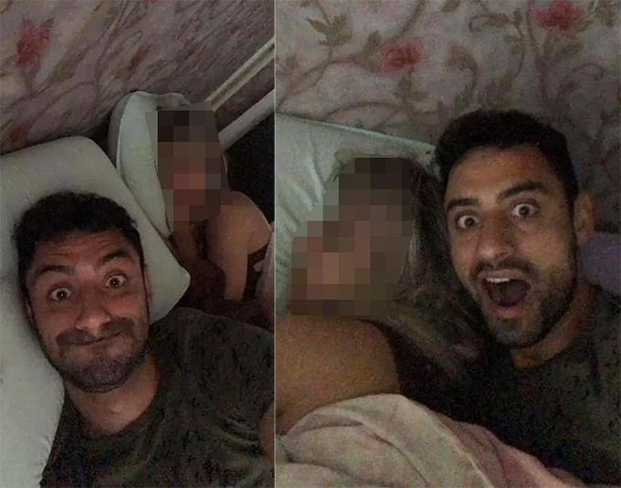 Những hình ảnh Freitas gửi cho bạn bè trước khi bị giết chết.
