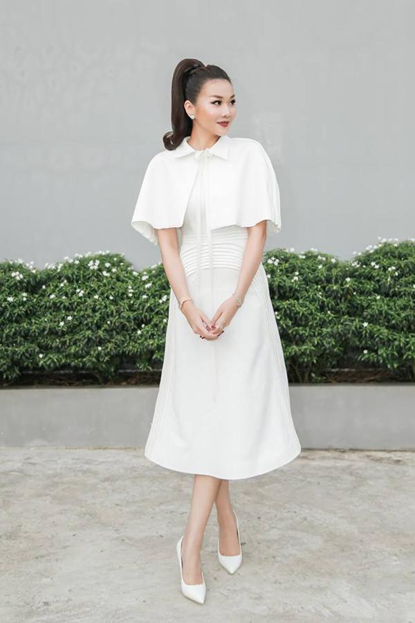 Những mẫu váy áo, lối trang điểm và làm tóc theo các phong cách cá tính, hiện đại, thanh lịch, phá cách, sang trọng đều được Thanh Hằng chọn lựa ghi góp mặt trong các tập phát sóng của The Face.