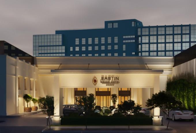 Khách sạn Eastin Grand Sài Gòn có không gian hiện đại, sang trọng.