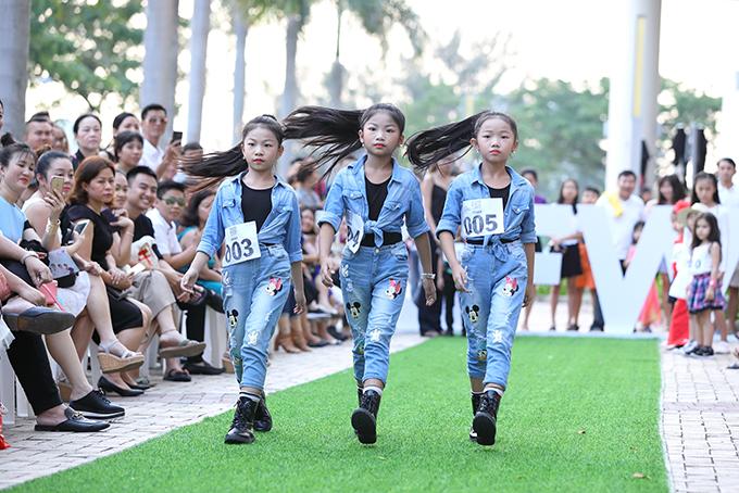 Ở vòng 2 của chương trình casting, nhiều mẫu nhí chuyên nghiệp đã nhận được lời khen ngợi từ các thành viên trong ban giám khảo.