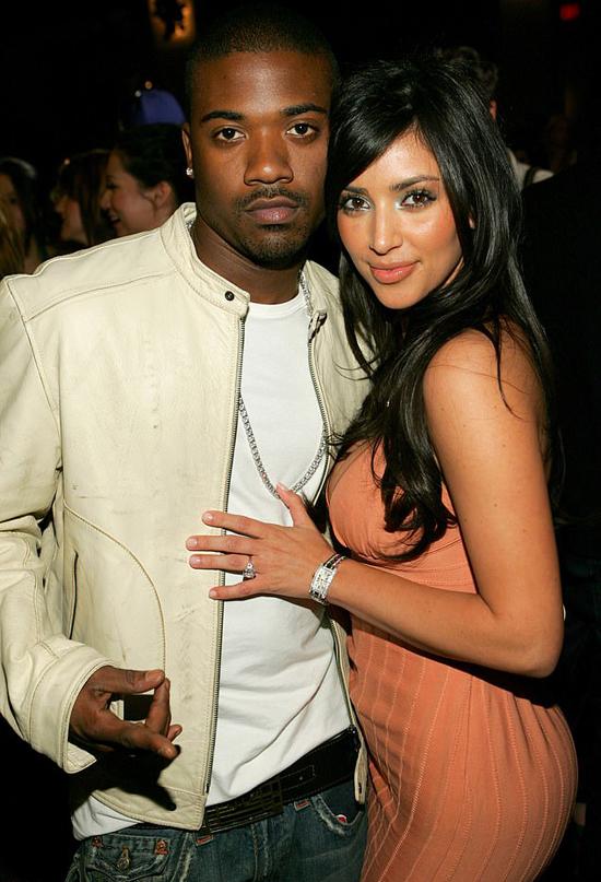 Ray J và Kim Kardashian thời hẹn hò.