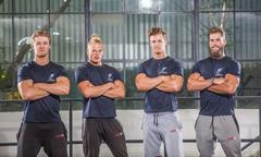 Bốn chàng trai kiếm triệu đô nhờ blog hướng dẫn tập gym