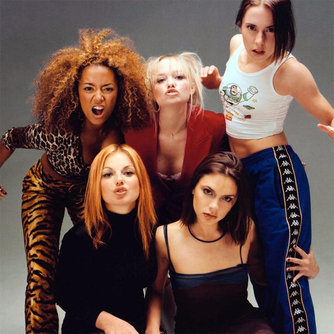 Nhóm Spice Girls ngày ấy.
