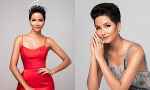 H'Hen Niê khoe nhan sắc trước một tháng thi Miss Universe