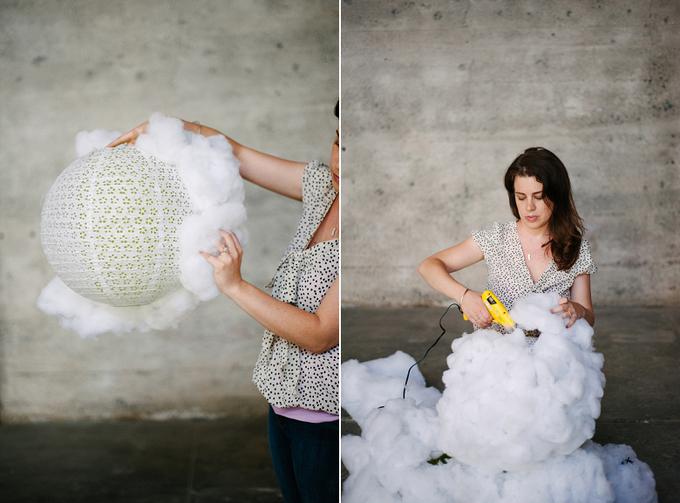 Hướng dẫn làm \'đám mây\' lơ lửng cho khu vực chụp ảnh đám cưới