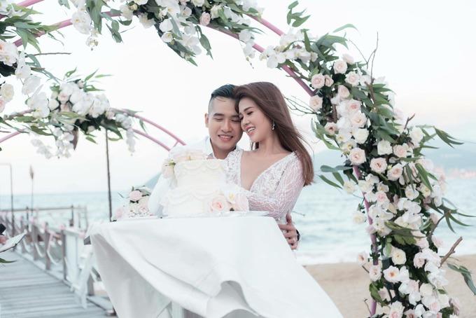 Tiêu Quang tổ chức đám cưới lãng mạn để thể hiện sự trân trọng với Ngọc Bích.