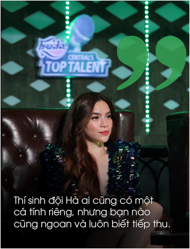Hà Hồ, Mr. Đàm khen ngợi học trò trước chung kết Huda Centrals Top Talent - 1