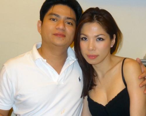 Vợ chồng bác sĩ Chiêm Quốc Thái khi còn bên nhau.