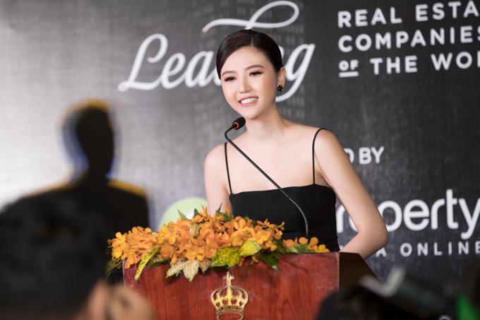 Hiện, Ngọc Duyên là Giám đốc phát triển dự án, mảng bất động sản Sunshine Homes của Tập đoàn Sunshine Group.