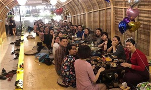 Quán nhậu thổ dân mới mở ở Xã Đàn