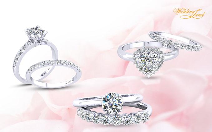 Điểm đặc biệt nhất của bộ sưu tập là sự kết hợp linh hoạt trong thiết kế. Cô dâu có thể đeo riêng nhẫn cưới và đính hôn theo cách truyền thống hoặc kết hợp cả hai.