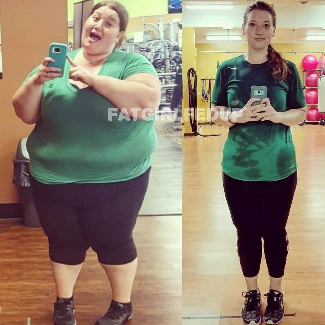Lexi Reed sau gần 2 năm kiên trì giảm cân.