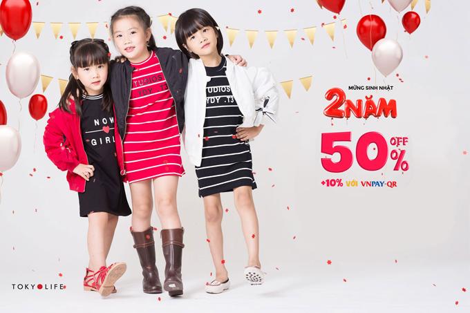 Với mong muốn mang lại những trải nghiệm cuộc sống Nhật Bản cho người Việt thông qua những sản phẩm, TokyoLife - hệ thống hàng tiêu dùng phụ kiện và thời trang Nhật Bản đã gắn bó với thị trường Việt Nam suốt 2 năm. Nhân dịp sinh nhật 2 tuổi, TokyoLife dành tặng khách hàng chương trình ưu đãi 50% trên toàn bộ hệ thống.